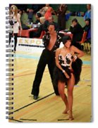 Dance Contest Nr 02 Spiral Notebook