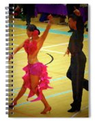Dance Contest Nr 06 Spiral Notebook
