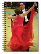 Dance Contest Nr 11 Spiral Notebook