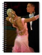 Dance Contest Nr 12 Spiral Notebook