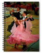 Dance Contest Nr 13 Spiral Notebook