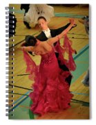 Dance Contest Nr 15 Spiral Notebook