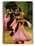 Dance Contest Nr 16 Spiral Notebook