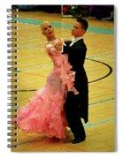 Dance Contest Nr 17 Spiral Notebook