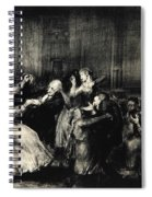 Dance In A Madhouse Spiral Notebook