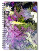 Dance In Violet Spiral Notebook
