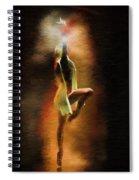 Dance Macabre Spiral Notebook