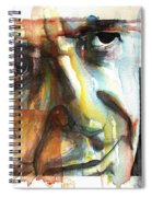 Dance Me To The End Of Love Spiral Notebook