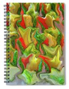Dance Of The Appetizers Spiral Notebook