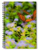 Dance Of The Butterflies Spiral Notebook