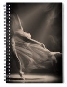 Dance Of The Ghost Spiral Notebook