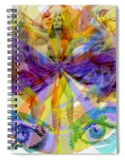 Dance Of The Rainbow  Spiral Notebook