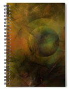 Dance Of The Spheres  Spiral Notebook