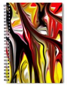 Dance Of The Sugar Plum Faries Spiral Notebook