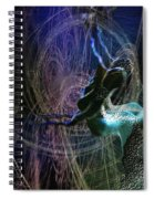 Dance Of The Universe Spiral Notebook