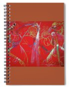 Dance Step Spiral Notebook