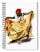 Dance The Belair Spiral Notebook