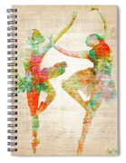 Dance With Me Spiral Notebook