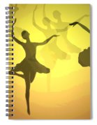 Dance With Us Into The Light Spiral Notebook