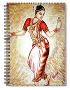 Dancer 1 Spiral Notebook
