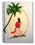 Dancer 1 Spiral Notebook
