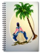 Dancer 2 Spiral Notebook