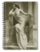 Edwardian Actress Suzy Mabel Spiral Notebook
