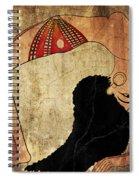 dancer of Ancient Egypt Spiral Notebook
