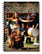 Dancer Spiral Notebook