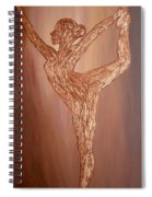 Dancer Silhouette Spiral Notebook
