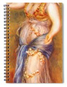 Dancer With Castanettes 1909 Spiral Notebook