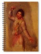 Dancer With Castenets 1895 Spiral Notebook