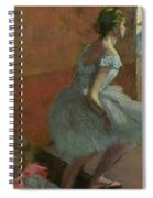 Dancers Ascending A Staircase Spiral Notebook