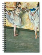Dancers At The Bar Spiral Notebook