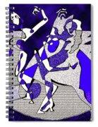 Dancers Dancing Spiral Notebook