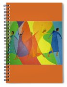 Dancers Spiral Notebook