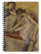 Dancers In Repose Spiral Notebook