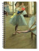 Dancers In The Classroom Spiral Notebook