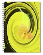 Dancers Watercolor 11 Spiral Notebook