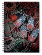 Dances With Lobsters Spiral Notebook