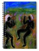 Dancing A Deliverance Prayer Spiral Notebook