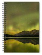Dancing Around The Mountains Spiral Notebook