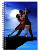 Dancing By Moonlight Spiral Notebook