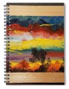 Dancing Colors     102 Spiral Notebook