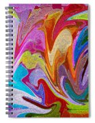 Dancing Colors Spiral Notebook
