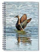 Dancing Duck Spiral Notebook