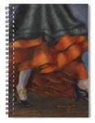 Dancing Feet Spiral Notebook