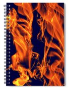 Dancing Fire I Spiral Notebook