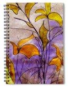 Dancing Flora Spiral Notebook