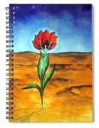 Dancing Flower-girl Spiral Notebook